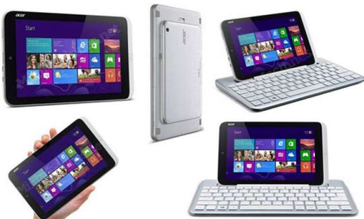 acer launches world s first 8 inch windows 8 tab iconia w3