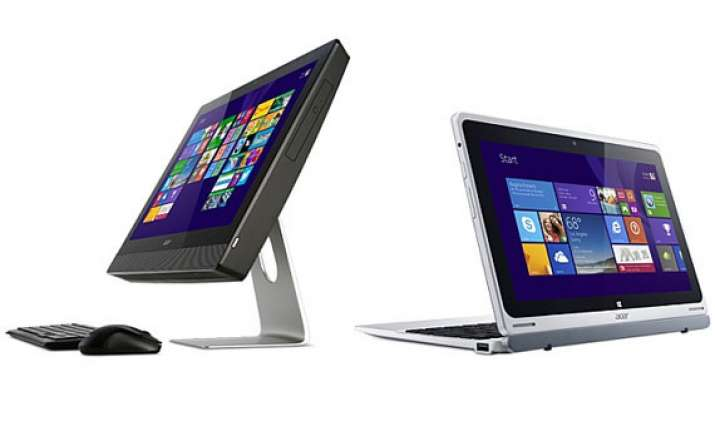 acer unveils five laptops core i3 chromebook tablets and