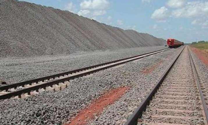 adani posco e c sign pact to develop rail line in australia