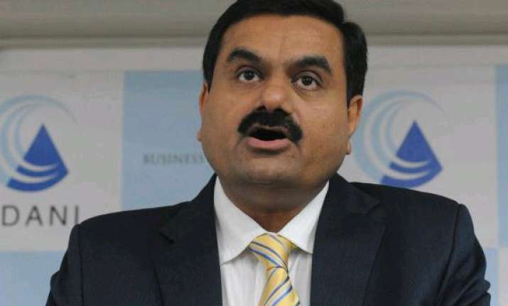 adani group chief meets home minister home secy