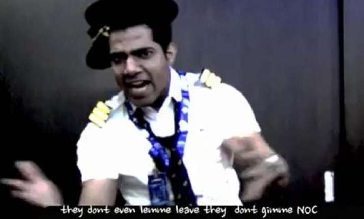 air india pilot s rap video goes viral on youtube leaves