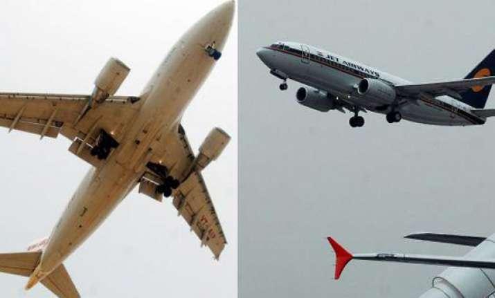 air india jet airways cancel 7 flights to london
