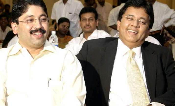 aircel maxis deal case cbi chargesheets maran brothers