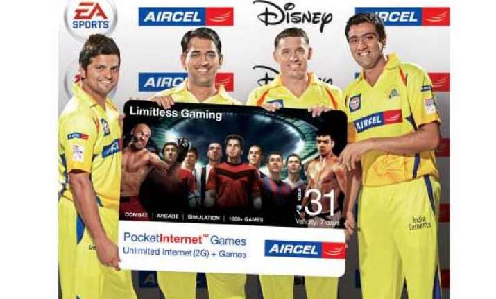 aircel offers unlimited games internet for rs 43