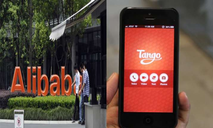 alibaba buys 215 million stake in us chat app tango
