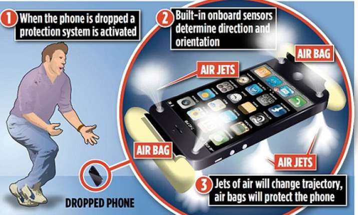 amazon boss files patent for mobile phone airbags