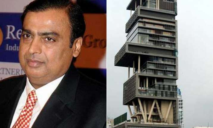 ambani s home world s most outrageously expensive forbes