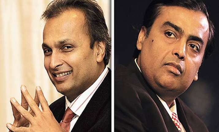mukesh anil ambani come together in chorwad