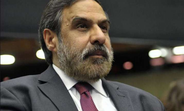 anand sharma denies advocating mortgage of india s gold