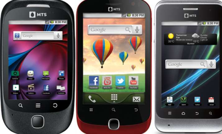 android based smartphones from mts
