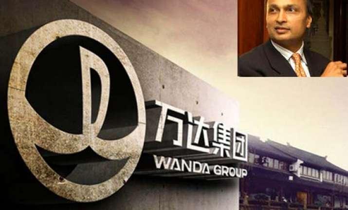 anil ambani group and china s wanda group form jv to build