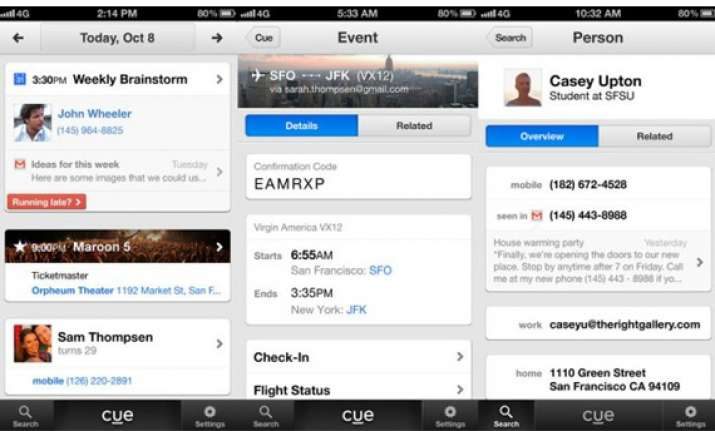 apple buys personal assistant app cue