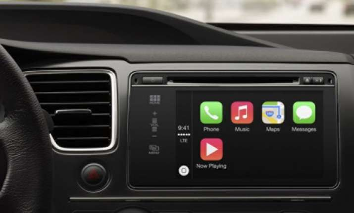 apple s carplay will put ios on your dash