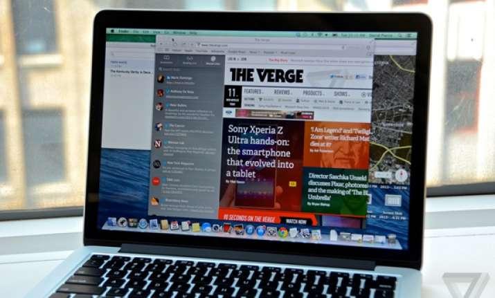 apple says mavericks operating system will be free
