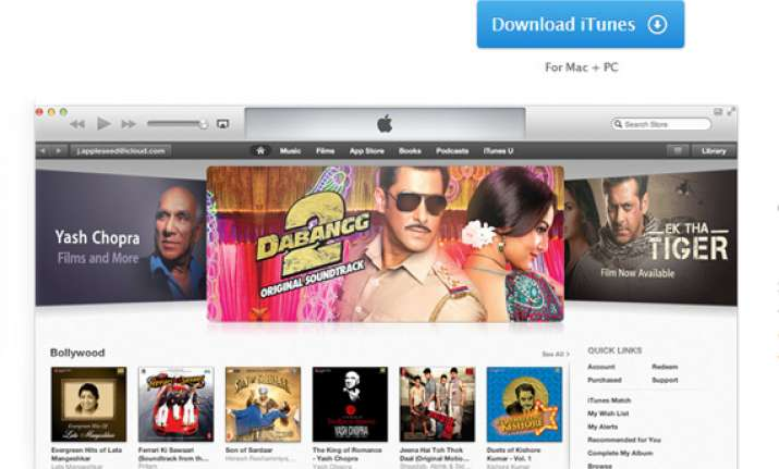 apple launches itunes in india integrates icloud