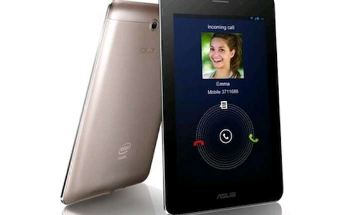 asus fonepad 7 dual sim tablet launched for rs 12 999