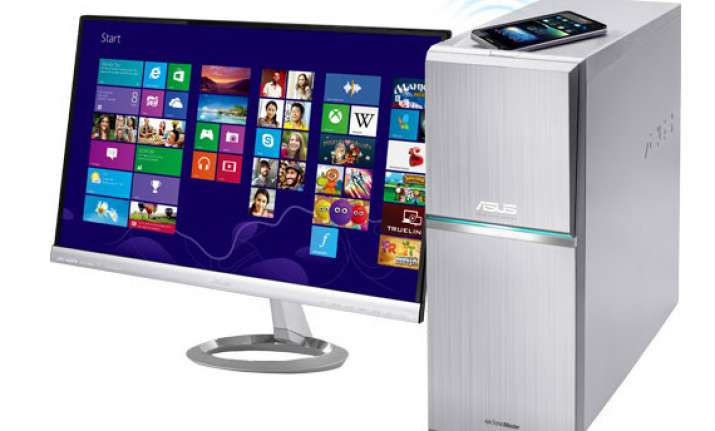 asus m70ad desktop pc launched with nfc at rs. 62 000