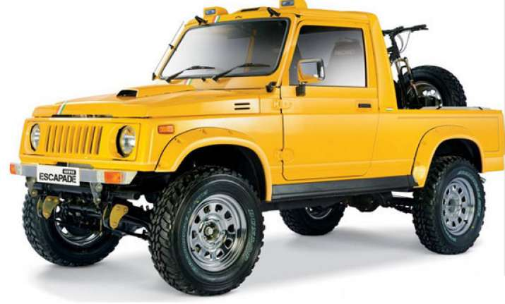 auto expo 2014 maruti suzuki gypsy showcases escapade