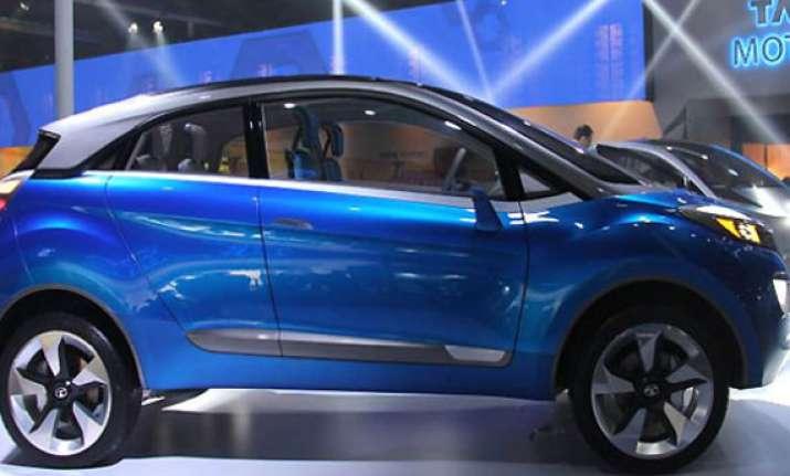 auto expo 2014 tata unveils nexon concept car