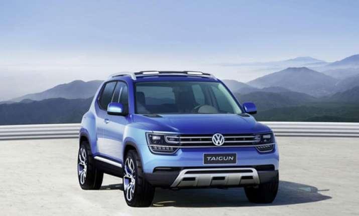 auto expo 2014 volkswagen unveils concept suv taigun