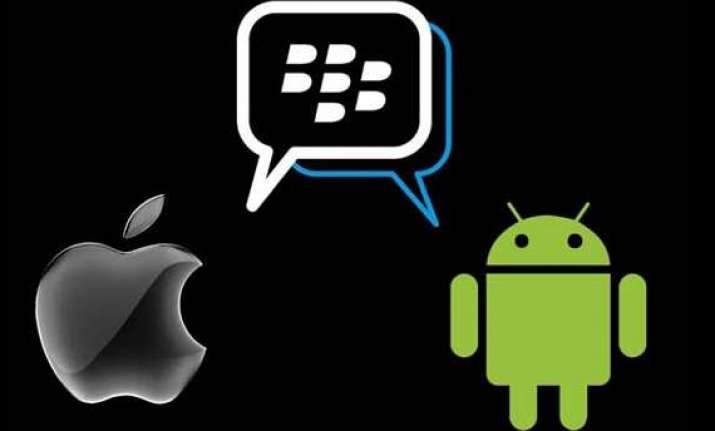 bbm for android bbm for iphone is out