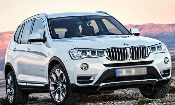 bmw launches refreshed x3 in india at rs 44.9 lakh