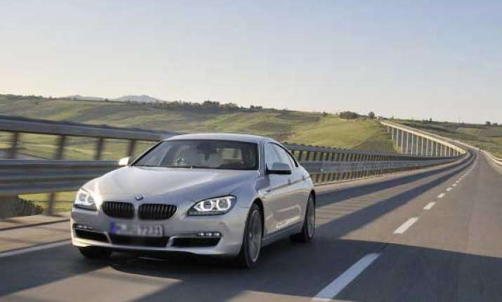 bmw 6 series gran coupe launched for rs 86.40 lakh