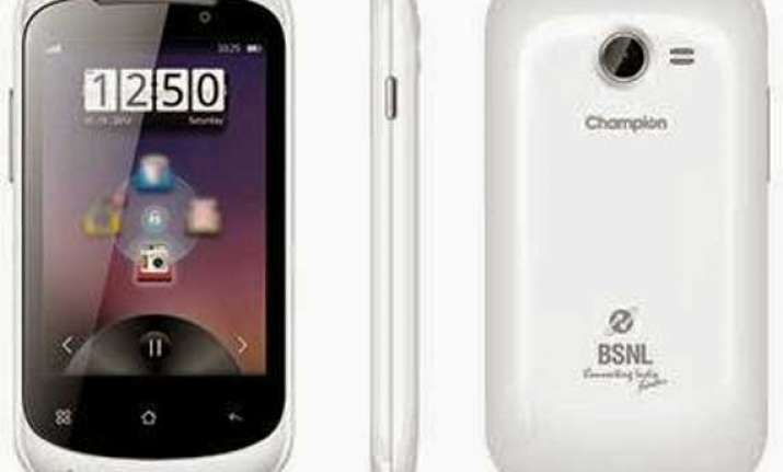 bsnl unveils smart phone for common man
