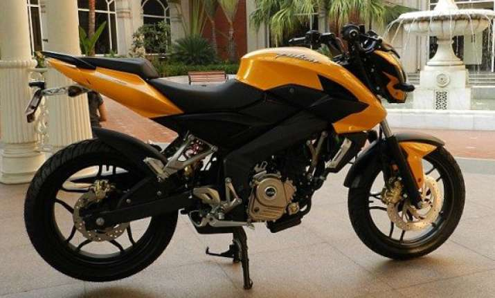 bajaj launches the new pulsar 200ns in pune