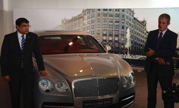 bentley launches new flying spur priced at rs 3.1 crore