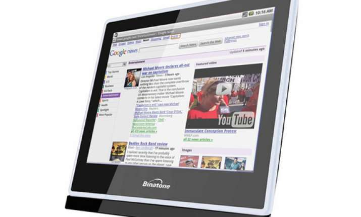 binatone launches tablet pc for kids priced at rs 9 999