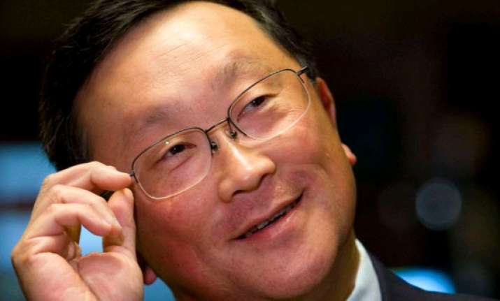blackberry ceo brands iphone users wall huggers
