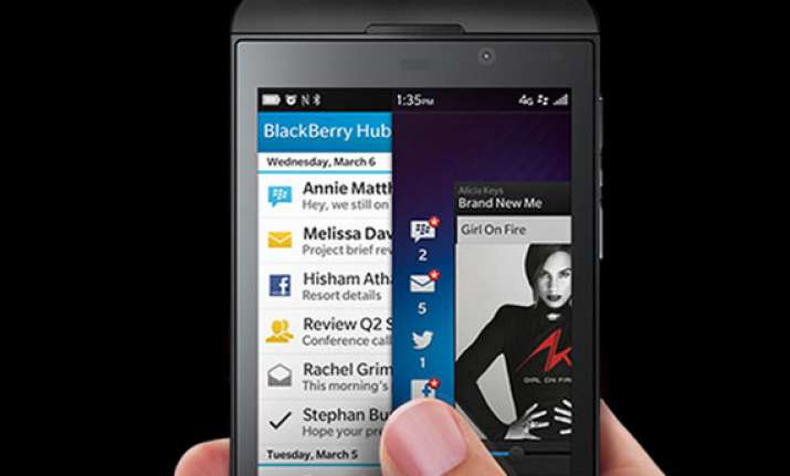 BlackBerry OS 10 not secure: UK government | India News