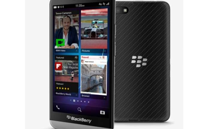 blackberry s premium smartphone z30 may release in india on