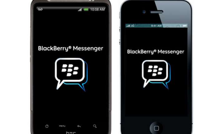 blackberry adds voice calls dropbox location sharing in bbm