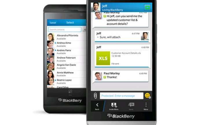 blackberry launches bbm protected for confidential instant