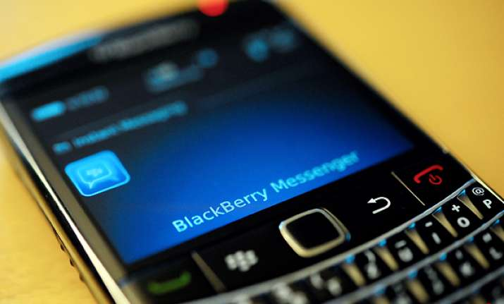 blackberry services disrupted for third day