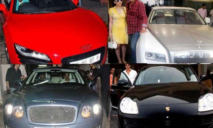 bollywood stars and their cars