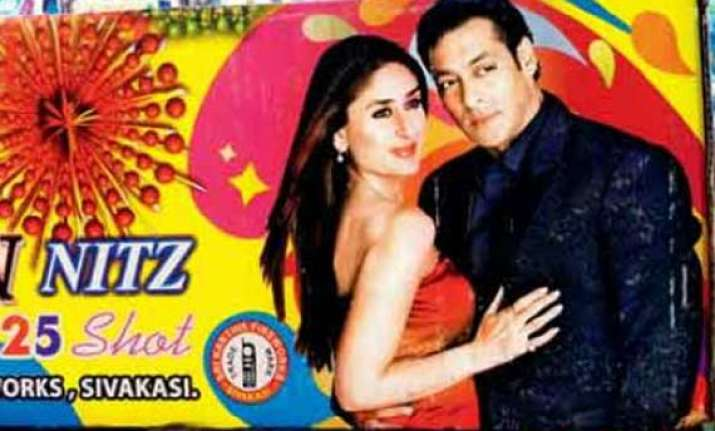 bollywood crackers in big demand this diwali