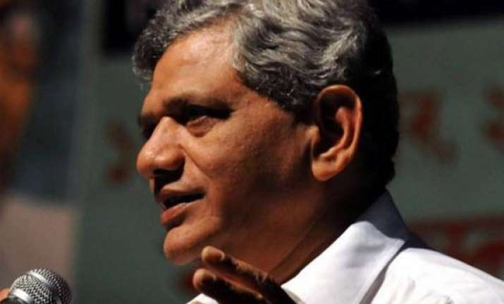 cpi m says rupee fall can t be stopped by opening up stock