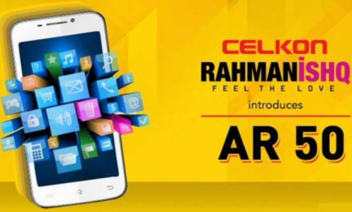 celkon rahmanishq ar50 with android 4.2 launched at rs. 8