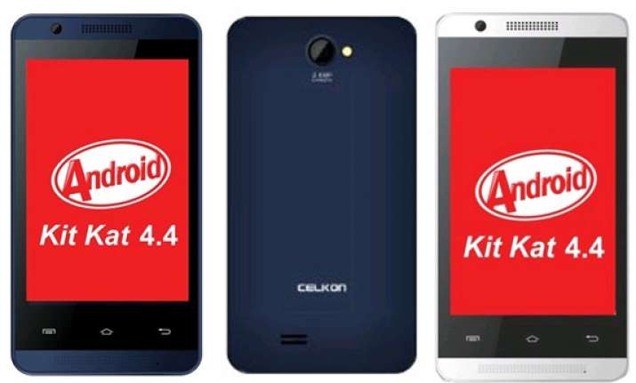 celkon launches cheapest kitkat powered phone on snapdeal