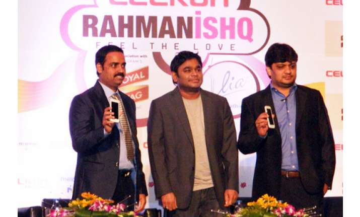 celkon launches ar rahman themed smartphones at rs 7 999