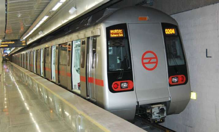 chinese company supplies trains to delhi metro