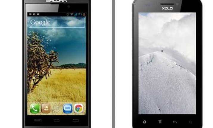a comparison salora powermaxx z1 vs xolo b700