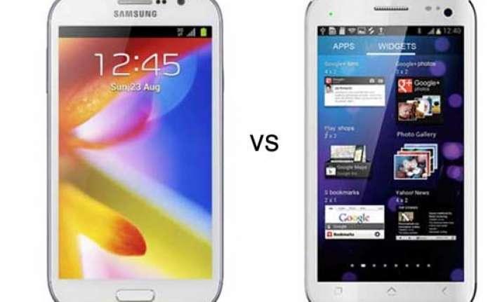 comparison micromax canvas hd vs samsung galaxy grand