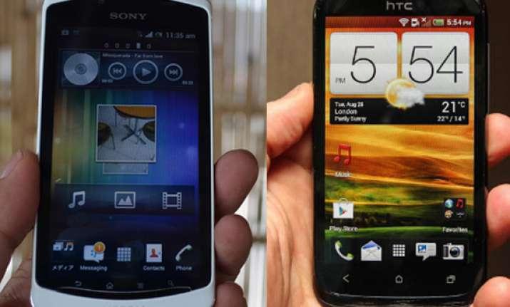 comparison sony xperia neo l vs htc desire x
