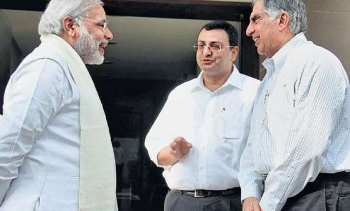 cyrus mistry formally takes charge of tata group