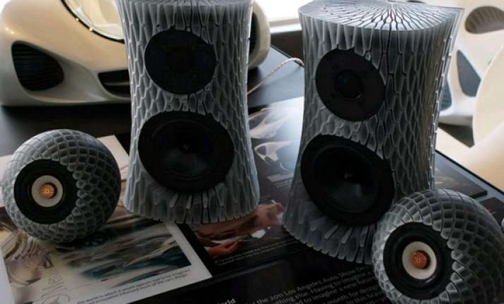 3d printed loudspeaker that can take any shape