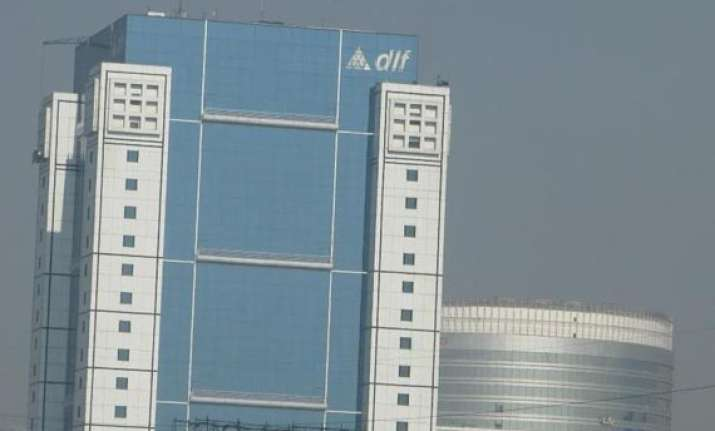 dlf shares up 5 market cap swells by rs. 2 148 crore
